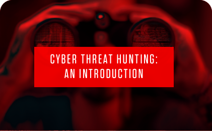feature image for cyber threat hunting