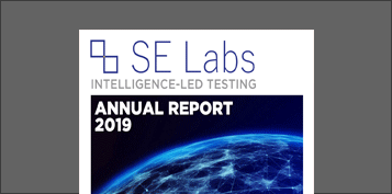 cover of se labs' 2019 annual report