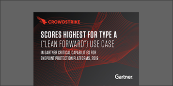 banner image of crowdstrikes ranking in gartner critical capabilities 2019 report