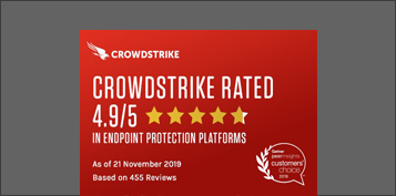 crowdstrike gartner epp customers choice banner
