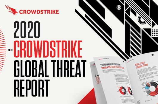 CrowdStrike 2020 Global Threat Report banner