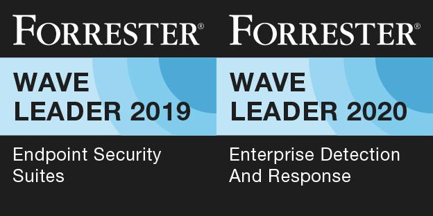 Forrester Wave badges