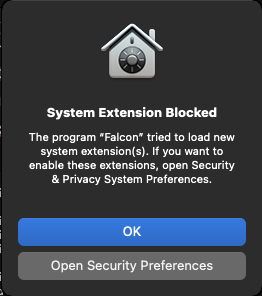 free trial guide system extension blocked message