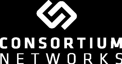 white consortium logo