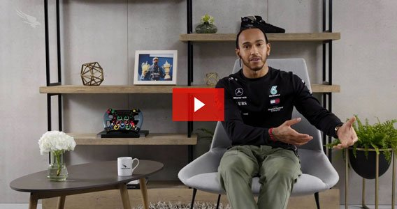 lewis hamilton discussing his success